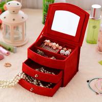 ssh003sx earrings necklace pendant box jewelry storage