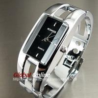 2014 New Elegant Clock Stylish Full Stainless Steel Quartz Ladies Watches  Bangle Women Dress Wrist Watch relogio feminino