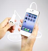 For iPhone4S / 5 phone line splitter phone self-control line anti-shake camera shutter camera line free shipping
