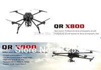 EMS free shipping 2014 Newest Walkera QR X800 DEVO 10 DEVO 12E Professional Aerial Photography Quadcopter