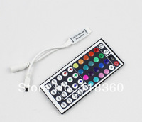 44Keys RGB Controller LED Strip Mini IR Remote Controller Available For 5050 3528 Free Shipping