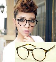 Free Shipping Fashion Elegant Women Slim Plain Mirror Eye Glasses myopia glasses frame