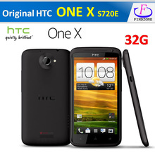 "Free shipping Hot Original HTC ONE X XL S720e G23 Unlocked 32GB Android 4.0 Quad-core 1.5GHz 3G 8MP 4.7"" SMARTPHONE Refurbished(China (Mainland))"