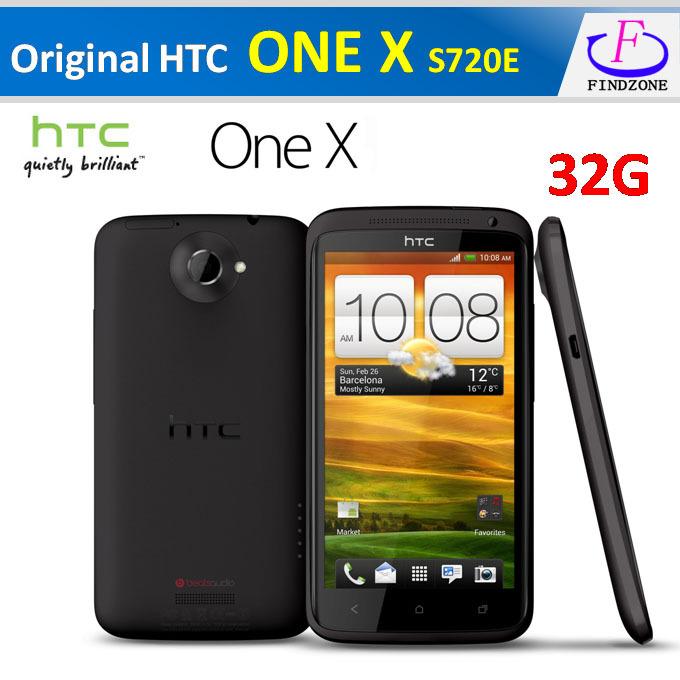 """Spedizione gratuita a caldo originale HTC One X s720e g23 32gb sbloccato Android 4.0 quad- Core 1,5 GHz 3g 8mp 4,7"""" smartphone rinnovato"""