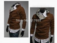 Winter&Autumn Men's Fashion  Hoodies Sweatshirts Casual Sports Male Hooded Jacket Coat men clothes cardigan style jacket