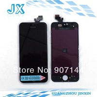 50PCS/LOT LCD For iPhone 5 5G lcd display  with touch screen Full set Assembly White and black color