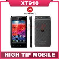 "Original Unlocked Motorola RAZR XT910 Android mobile Phone 4.3"" 16GB ROM Camera 8MP  Refurbished Free shipping"
