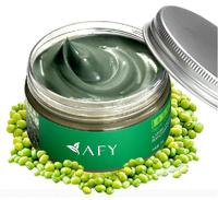 face care face mask Mung bean seaweed mask shrink pore whitening moisturizing acne male women's facial mask 2pcs Retial