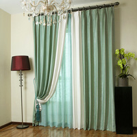 Free shipping Brief solid color shade curtain modern 169 quality chenille