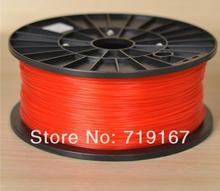 wholesale multicolor reprap ABS material 1.75 mm 1kg 3D printer ABS filament 10pcs DHL/FEDEX free shippment
