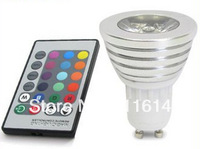 High quality 3W RGB led spotlight e27 CE ROHS