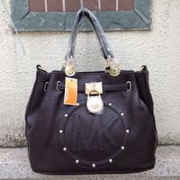 8014# Free shipping, fashion handbag 2014 Hot Selling PU Lady's Fashion Handbag,PU shoulder bag
