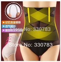 new 2014 women high waist postpartum body shaper panties slimming thin breathable high waist  waist cincher pants