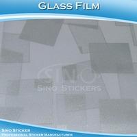Sino Fashionable Decoration Window Glass Film Foil For Glass Design Sticker 1.22x50M