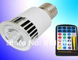 Hot selling LED E27 5W RGB Spotlight