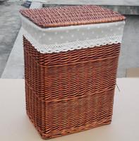 Rattan willow laundry basket laundry basket laundry basket laundry basket underwear storage box , customize 45 33 58