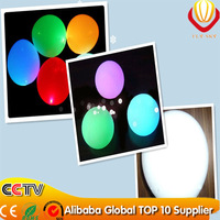 wholsale 500pcs/lot 12inches LED balloon mixed color light up latex balloon for Birthday party Decorations free shipping