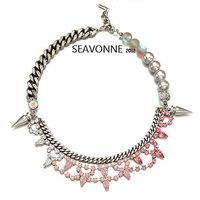 New Fashion 2014 European style pearl necklace women fashion statemen