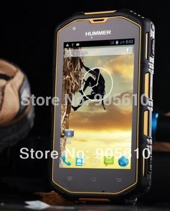 "2014 Hummer H5 3G Smartphone 4.0"" Capacitive Screen IP68 Waterproof Shockproof Dustproof 512M RAM 4G ROM GPS Polish Czech Greek(Hong Kong)"