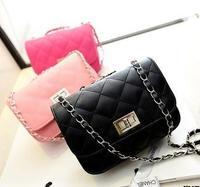 FLYING BIRDS 2014 Hot Wholesale Folding Fashion Women Clutch Bag Popular Mini women pu leather Handbag Elegant Coin Bag