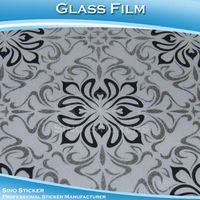 Sino  Beautiful Patterns  Glass Film Sticker For  Warpping  Glass Vinyl Film  1.22x50M