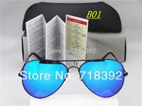 Hot Sale 2014 New Fashion coating sunglass Frog Mirror Sunglasse Arrival Men Women Loved Unisex Sunglasses
