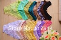 Wholesale Sexy Lace G-string G String Thong Panty lingerie Women Underwear Briefs Female Lady T Back Underwear Cheap Hot BGLC3