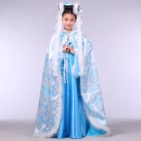 Child costume parent-child photo service winter cloak small