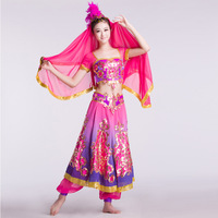 Women's costume stage clothes indian dance