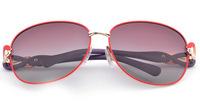 2014 women's gradual fashion polarized sunglasses women sunglasses polarizer