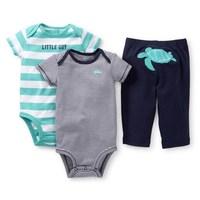 2014 New Carters  3-piece set Bodysuit wholesale Free shipping