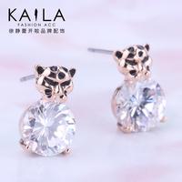 Kaila the flower stud earring female fashion earrings animal new arrival series