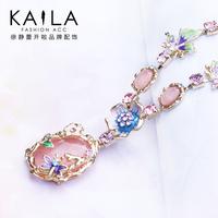 Kaila necklace female long design fashion sweet pendant