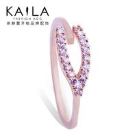 Kaila open ring female fashion diamond finger ring