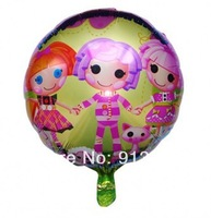 "wholesale 18"" inch Lalaloopsy Helium balloons kids birthday party decorations Inflatable toys gifts for children games"