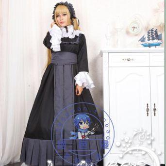 Cosplay costume Cosplay gosick middot . cos dress formal dress Custom made any size Hallowmas Gifr(China (Mainland))
