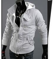 2014 new hot casual mens hoodies jacket high quality hoodie sweatshirts for men M/L/XL/XXL/3XL Sport Suit Men