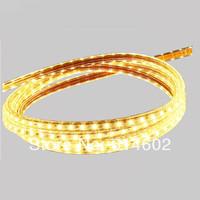High bright Waterproof strip 5050 strip 60leds/m 220V led strip ,50 meters/lot led strip+plug+clips free shipping