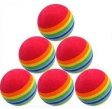 popular rainbow golf ball