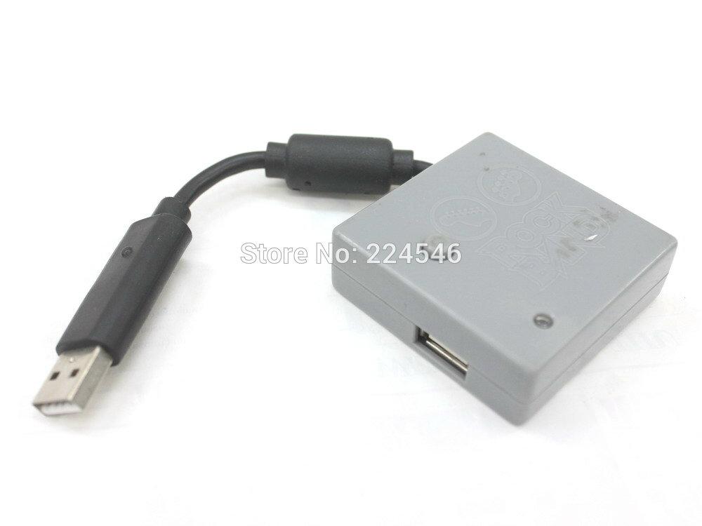 Rock band Wireless USB Dongle Adapter PGTSELEA2B Guitar Grey Black For PS2 Or PS3(China (Mainland))