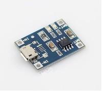 Free ship,NEW TP4056 1A Lipo Battery Charging Board Charging Module Charger Module lithium battery DIY Mini USB Port