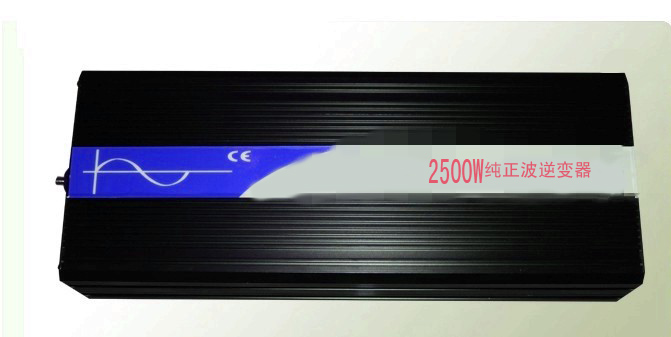 2500W/5000W 24Vdc to 120V ac Pure Sine Wave Power Inverter (2500w/5000w peak power) Free shipping(China (Mainland))