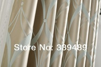 2014 Time-limited Limited Freeshipping Included Curtains Home Hotel [rhythm] High-precision Dyed Curtain of High Quality Simple