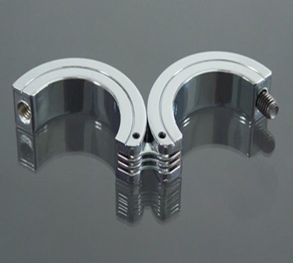 "1X Locking Hinged Cock Ring OR CBT Ball Stretchers Size: 1.5"", 1.75"",2""Chrome Finish ~ Sm503(China (Mainland))"