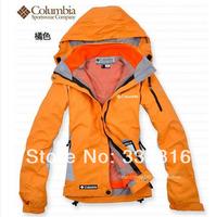 2014 Women Outdoor sport jackets winter coat ski clothes,  brand jacket woman ski-wear