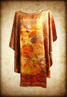 Print Silk Bat T-Shirt/100% Natural Mulberry Silk/New Spring & Summer 2014 Fashion Design For Women/Plus Big Size
