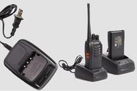 Protable Handheld Walkie Talkie Baofeng 400-470MHz 1-3KM Transceiver 1500/2800mAh Lithium Battery Two Way Radio Free Shipping