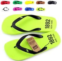 Popular male drag male fashion flip flops slippers bakham flip flops shoes 2014 beckham slippers