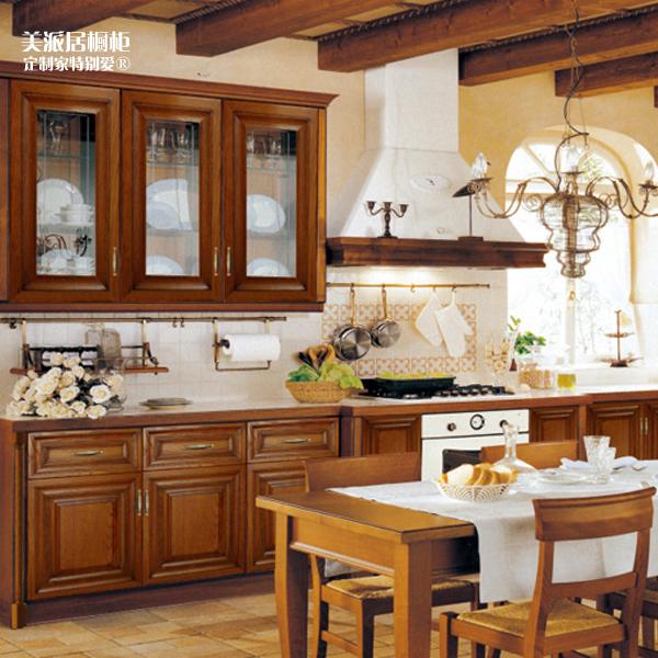 Amerikaanse Keuken Kopen : Solid Wood Kitchen Cabinets