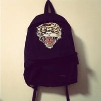 Fashion bigbang HARAJUKU backpack tiger backpack